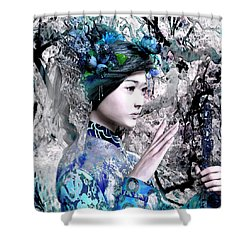 Our Lady Of China 7 Shower Curtain