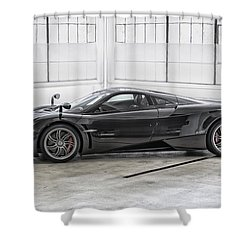 Pagani Huayra Shower Curtain