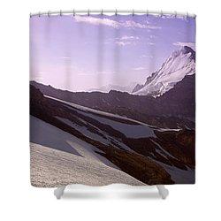 Pamir Shower Curtain by Konstantin Dikovsky