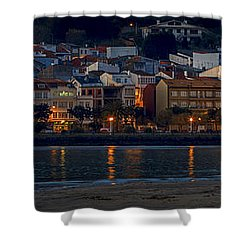 Panorama Of Cedeira Galicia Spain Shower Curtain