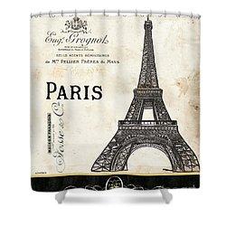 Paris Ooh La La 1 Shower Curtain