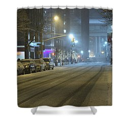 Park Avenue Bellow Grand Central Manhattan New York Shower Curtain