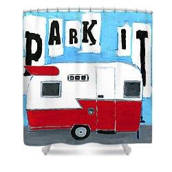 Park It Shower Curtain
