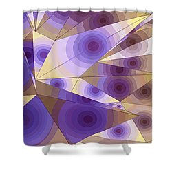 Passion Fruits Shower Curtain by Moustafa Al Hatter