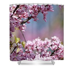 Pastel Blossoms Shower Curtain