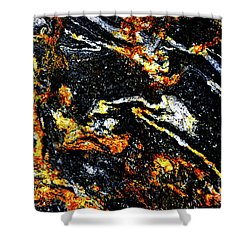 Shower Curtain featuring the photograph Patterns In Stone - 189 by Paul W Faust - Impressions of Light