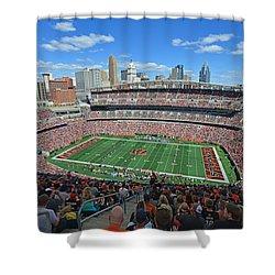 Paul Brown Stadium - Cincinnati Bengals Shower Curtain