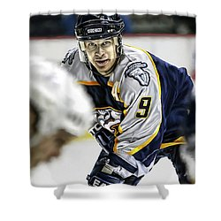 Paul Kariya Shower Curtain