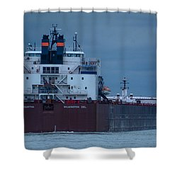 Paul R. Tregurtha Shower Curtain by Randy J Heath