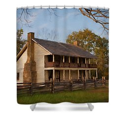 Pea Ridge Shower Curtain