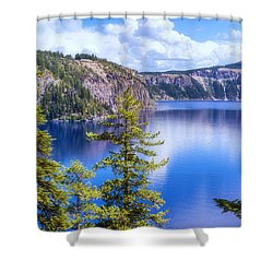 Wish I Was There Shower Curtain