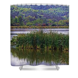 Peace Be Still Shower Curtain