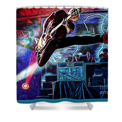 Pearl Jam Collection Shower Curtain by Marvin Blaine