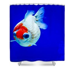 Pearl Scale Goldfish Shower Curtain
