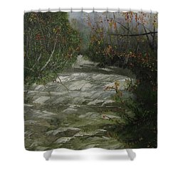 Peavine Creek Shower Curtain
