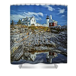 Pemaquid Reflections Shower Curtain