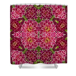 Perennial Garden Art Shower Curtain