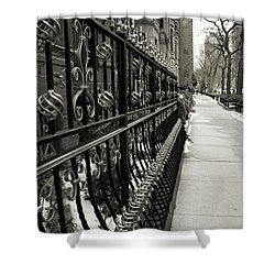 Perspective Shower Curtain by Joanne Coyle