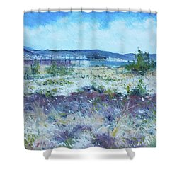Pescara Italy 2016 Shower Curtain by Enver Larney
