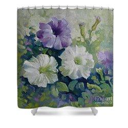 Petunias Shower Curtain