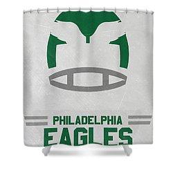 Philadelphia Eagles Vintage Art Shower Curtain
