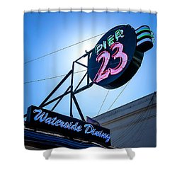 Pier 23 Shower Curtain