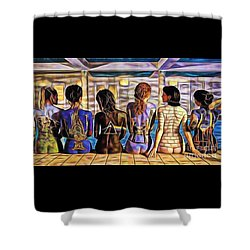 Pink Floyd Collection Shower Curtain