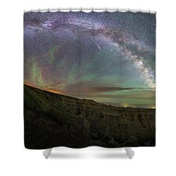 Shower Curtain featuring the photograph Pinnacles  by Aaron J Groen