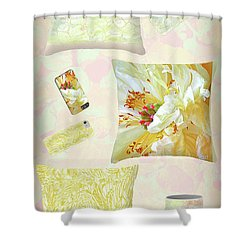 Shower Curtain featuring the photograph Pinterest by Nareeta Martin