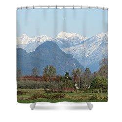 Pitt Meadows Shower Curtain