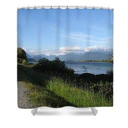 Pitt River Shower Curtain