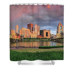 Pittsburgh 2 Shower Curtain