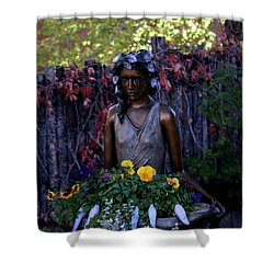 Shower Curtain featuring the photograph Plenty by Kenneth Campbell