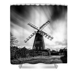 Polegate Windmill Shower Curtain