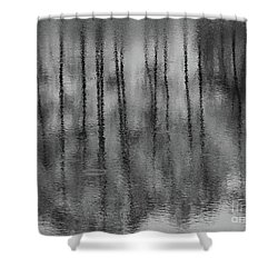 Pondpoland Shower Curtain
