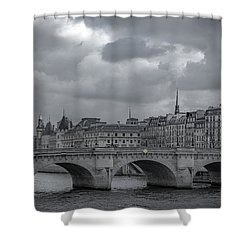 Pont Neuf Paris Shower Curtain