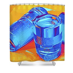 Pop Art Camera Lenses Shower Curtain