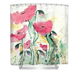 Poppies 10 Shower Curtain