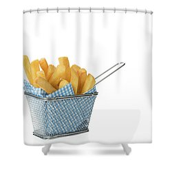 Portion Of Chips Shower Curtain