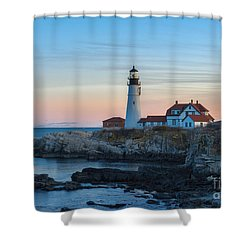 Portland Head Light Shower Curtain