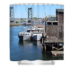 Portsmouth Nh  Shower Curtain
