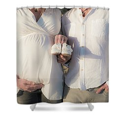 Shower Curtain featuring the photograph Powell Maternity by T Brian Jones