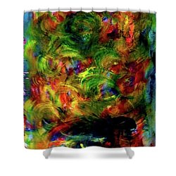 Power Of  Colour Shower Curtain