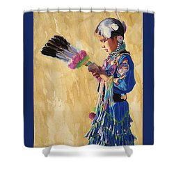 Prayer Walk Shower Curtain