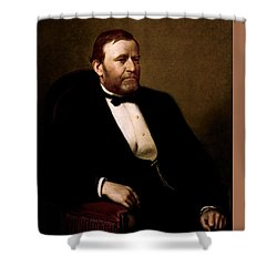 President Ulysses Grant Shower Curtain by War Is Hell Store