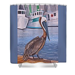 Pride Of Shem Creek Shower Curtain