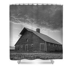 Primary Palouse Colors Shower Curtain