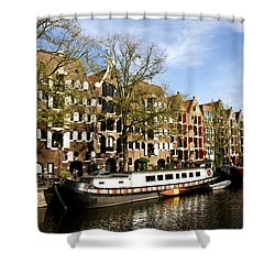 Prinsengracht Shower Curtain