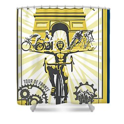Print Shower Curtain