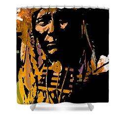 Proud Chief Shower Curtain